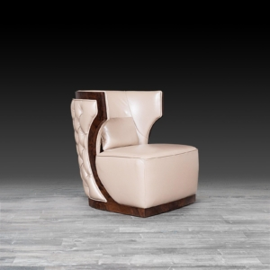 christopher beige stylish accent chair