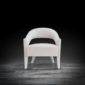 felipe beige modern accent chair
