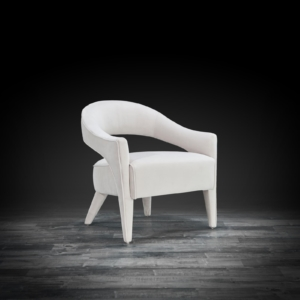 felipe beige stylish accent chair