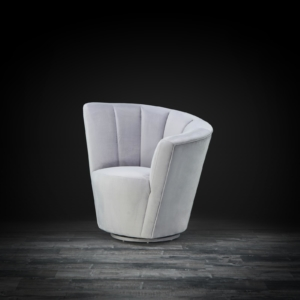 tulip laf gray stylish accent chair