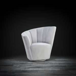 tulip raf gray modern accent chair