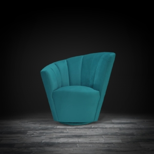 tulip raf green modern accent chair