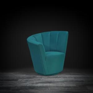 tulip raf green stylish accent chair