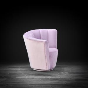 tulip raf purple roberto grassie accent chair