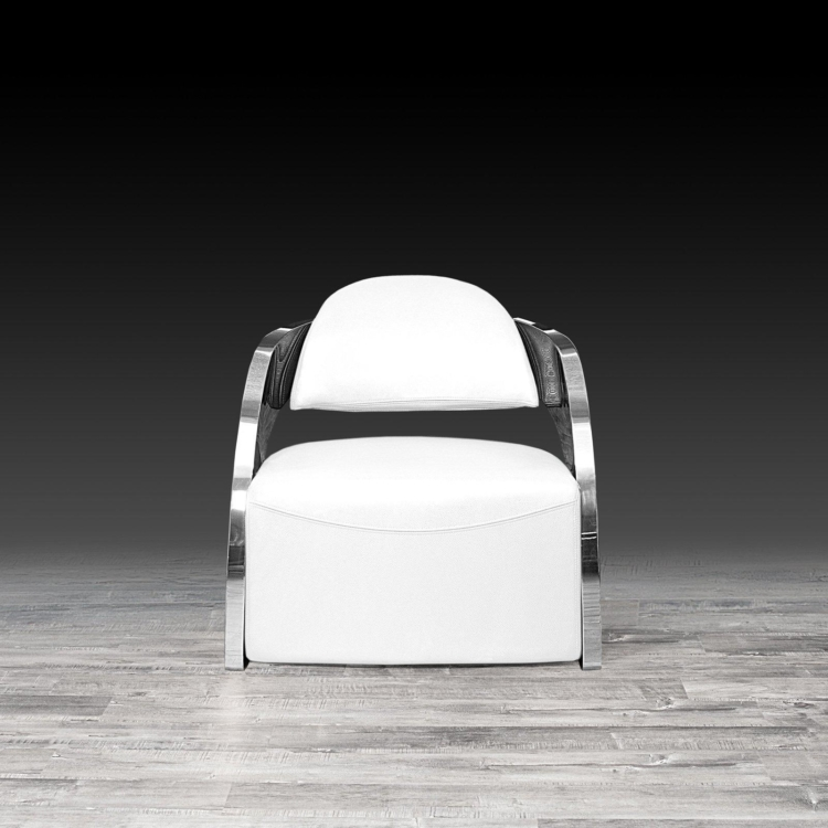 Fine Zetta Silver Accent Chair White Andrewgaddart Wooden Chair Designs For Living Room Andrewgaddartcom