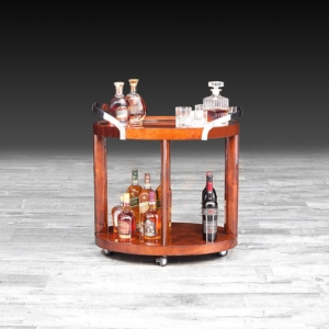 Aliosso Lacquered Bar Cart