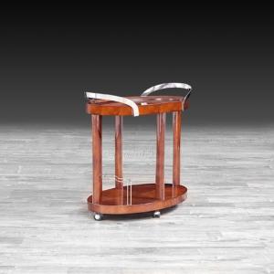 aliosso brown roberto grassie bar cart
