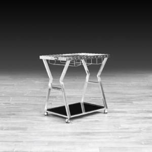 oslo silver roberto grassie bar cart