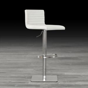 horizon white back stylish bar stool