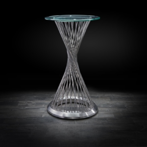 helix modern bar table