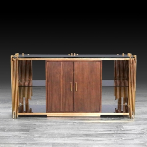 Modern Mauris Rose Gold Buffet