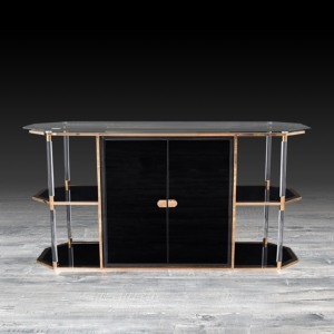 Modern Varossi Rose Gold Buffet