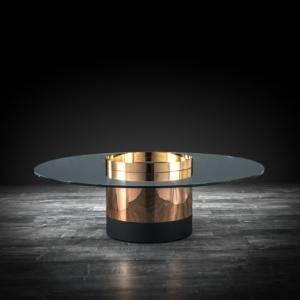 cerchio round rg modern coffee table