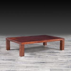 lotus rectangular stylish coffee table