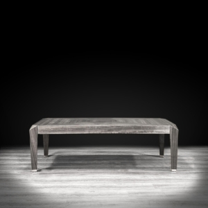 st tropez rectangular gray modern coffee table