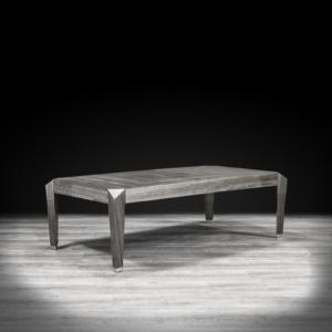 st tropez rectangular gray stylish coffee table