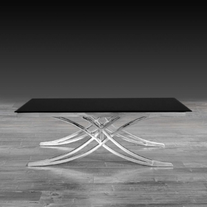 Modern Valora Silver Coffee Table
