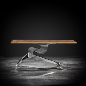 branch modern console table