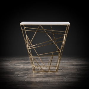 geo modern console table