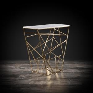 geo stylish console table