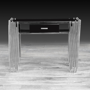 Modern Mauris Silver Console Table