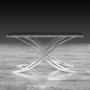 Modern Valora Silver Console Table