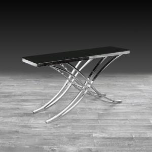 valora silver stylish console table