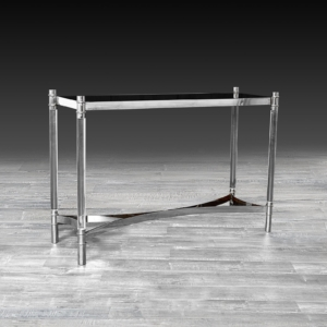 varossi silver stylish console table