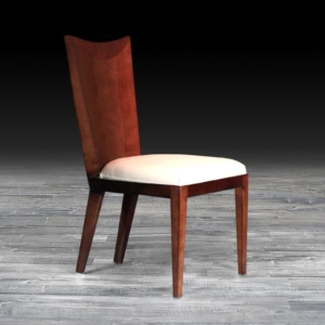 giatorre lacquered stylish dining chair