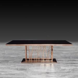 lorensia rg modern dining table