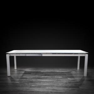 natalia white luxury dining table