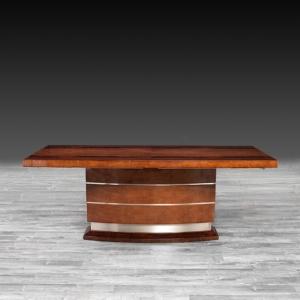 tallia brown modern dining table