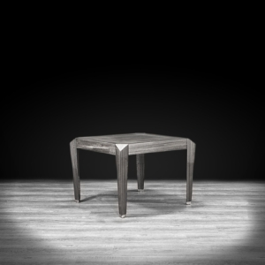 st tropez square gray stylish end table