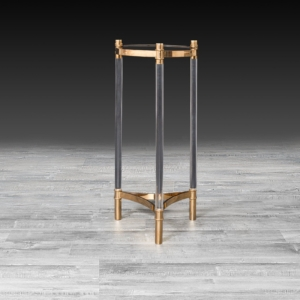 Stylish Varossi Rose Gold Flower Stand