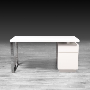 Modern Madrid White Office Desk