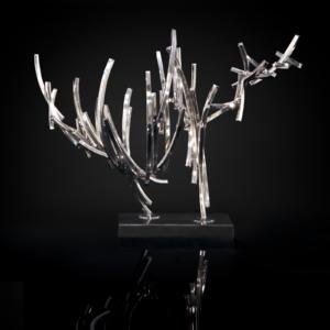 Line Complex-1 Silver Sculpture