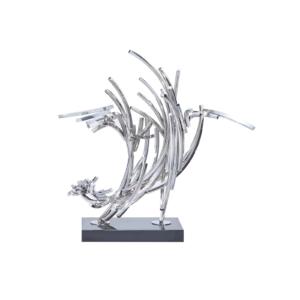 line complex 2 luxury sculpture
