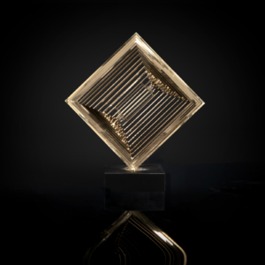 Melodious Tune-2 TG Titanium Gold Sculpture