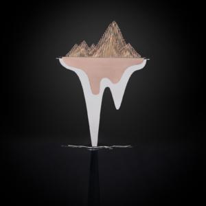 mountain voice 2 sculpture