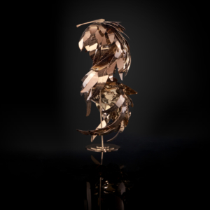 Sapling Rose Gold Sculpture