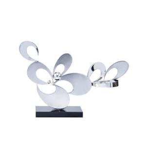 shoal 2 silver luxury sculpture