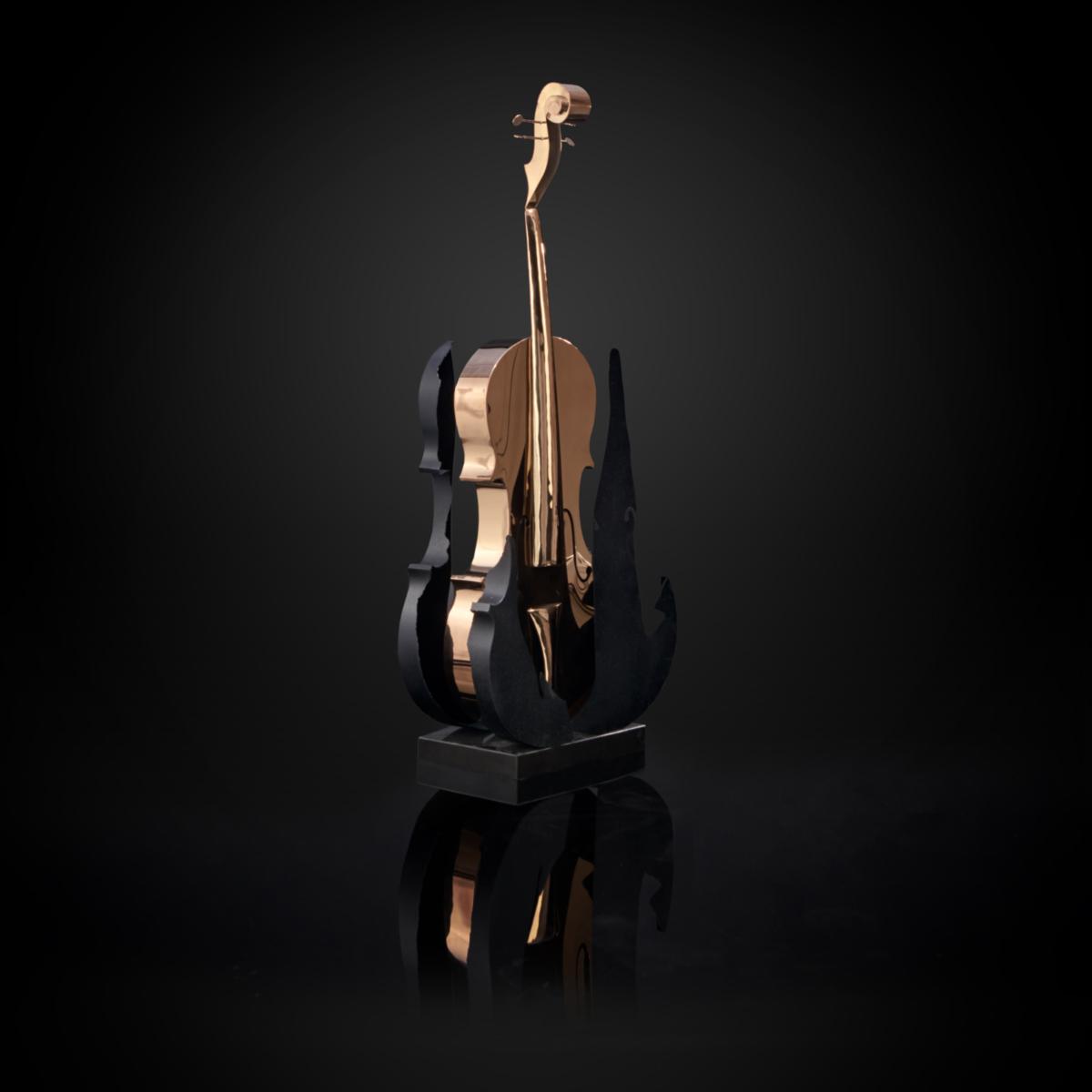 solo cello 1 stylish sculpture