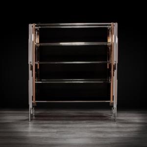 illusion silver stylish shelf