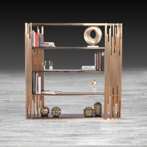 Modern Mauris Rose Gold Shelf
