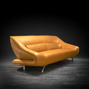 lorenzo yellow 2 sofa set