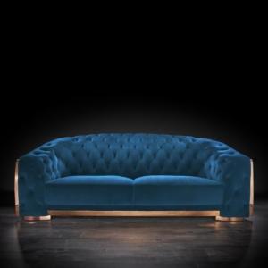 massimo rg blue 1 sofa set