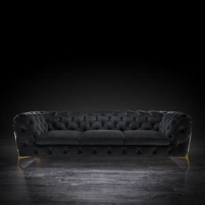 Regina Black Sofa Set
