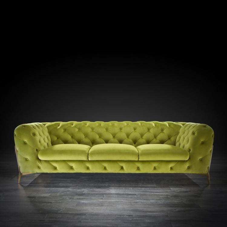 Light Green Modern Sofa Set   Regina