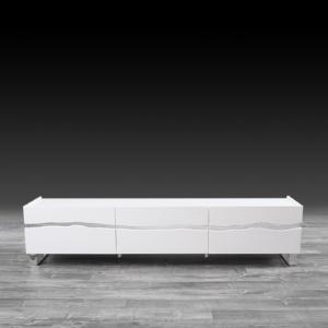 Modern Kai White TV Stand