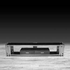 Modern Mauris Silver TV Stand